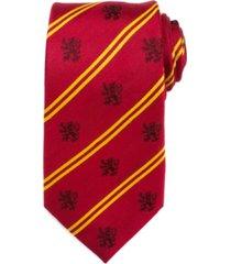 harry potter gryffindor pinstripe men's tie