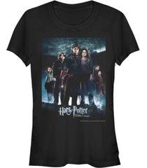 fifth sun harry potter goblet of fire group poster women's short sleeve t-shirt