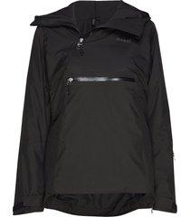 stranda ins hybrid w anorak outerwear sport jackets zwart bergans