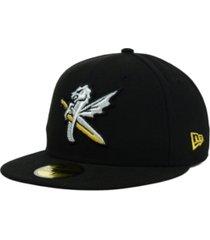 new era charlotte knights milb 59fifty cap