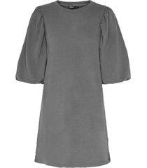 sweatshirtklänning onlgia s/s puff sweat dress