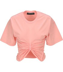 y/project ruched detail t-shirt