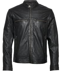 leather jacket leren jack leren jas zwart lindbergh