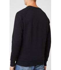 maison kitsuné men's palais royal sweatshirt - black - xl - black