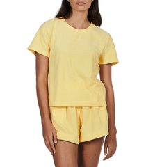 women's charlie holiday cleo shorts, size x-large - yellow