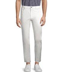 greyson men's amagansett slim-fit trousers - snow - size 40 32