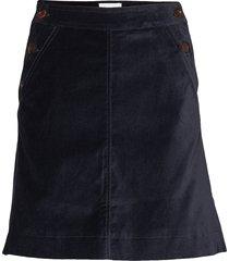 ebba skirt knälång kjol blå wood wood