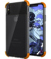 estuche protector ghostek covert 2 iphone x/xs - naranja