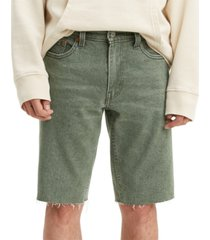 levi's men's 511 slim-fit long cutoff jean shorts