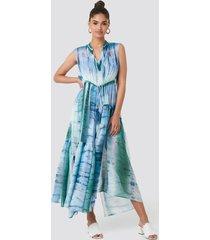 mango tayi dress - blue