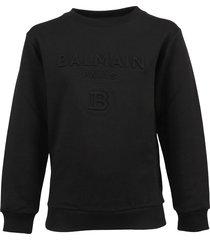 balmain sweatshirt zwart