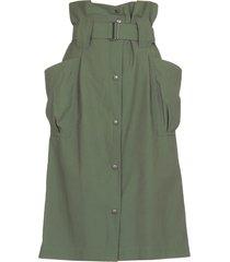 kenzo high waist cargo skirt