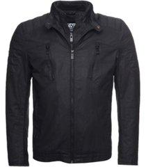 superdry men's carbon biker jacket