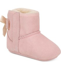 ugg 2-pc. set baby girls jesse beanie and bow booties