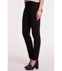 czarne spodnie jeansowe diana