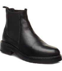 jemma wool shoes chelsea boots svart pavement