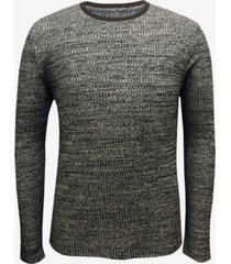 alfani men's space-dye crewneck pullover, created for macy's