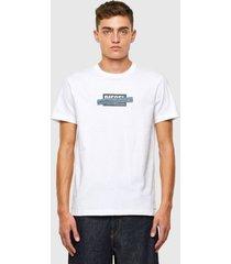 polera t diegos x40 t shirt 100 blanco diesel