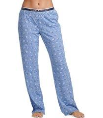 tommy hilfiger logo-print pajama pants