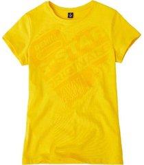 g-star geel t-shirt sp10636