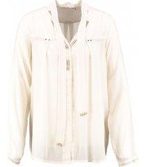10 feet crème viscose blouse