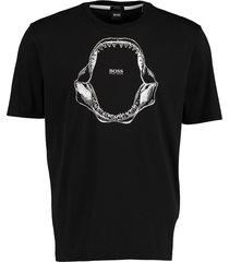 hugo boss t-shirt tima 2 zwart rf 50450923/001