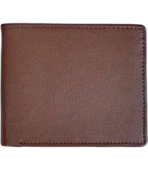 royce new york men's bifold credit card wallet