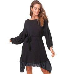 vestido carmim curto cacto preto