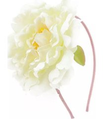 tiara le flores branco