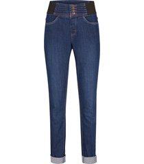 jeggings elasticizzati con cinta larga modellante skinny (blu) - bpc bonprix collection
