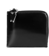 comme des garcons wallet black mirror wallet s