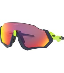 gafas oakley flight jacket matte navy/retina burn w/ prizm road