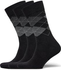 true argyle underwear socks regular socks svart amanda christensen