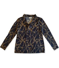 charter club tie v-neck blouse, created for macy's