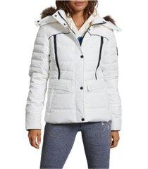 superdry women's glacier padded jacket