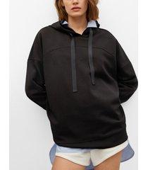 mango oversized hoodie