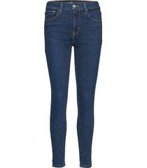 720 hirise super skinny essent skinny jeans blå levi´s women
