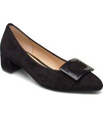pumps shoes heels pumps classic svart gabor