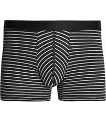 boxer lineas delgadas algodon color negro, talla l