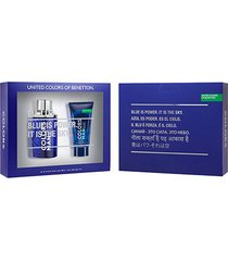 kit benetton colors men blue kit - eau de toilette + pós-barba