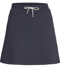 skirts knitted kort kjol blå edc by esprit