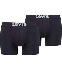 levi's solid basic boxer jet black