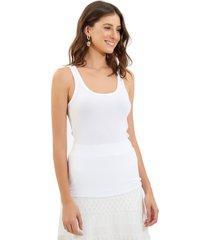 regata le lis blanc nancy ii malha branco feminina (branco, gg)