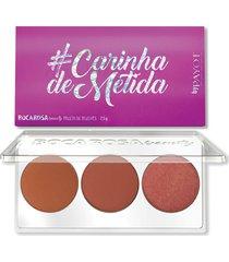 paleta de blush boca rosa #carinhademetida único