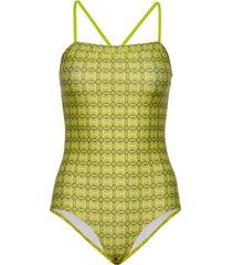 ibiza swimma badpak badkleding geel mads nørgaard