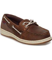 maleah two eye loafers låga skor brun sebago