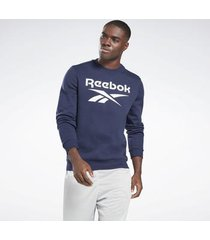 sweater reebok sport identity fleece crew sweatshirt