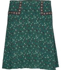 skirt kort kjol grön sofie schnoor