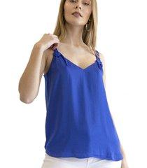 blusa amelie azulino racaventura