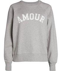 amour graphic sweatshirt